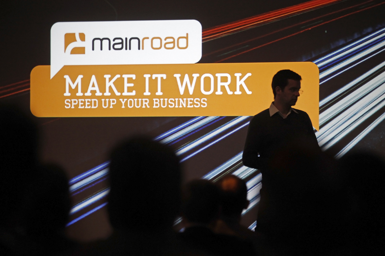 "Conferência ""MAKE IT WORK"" da MAINROUD."